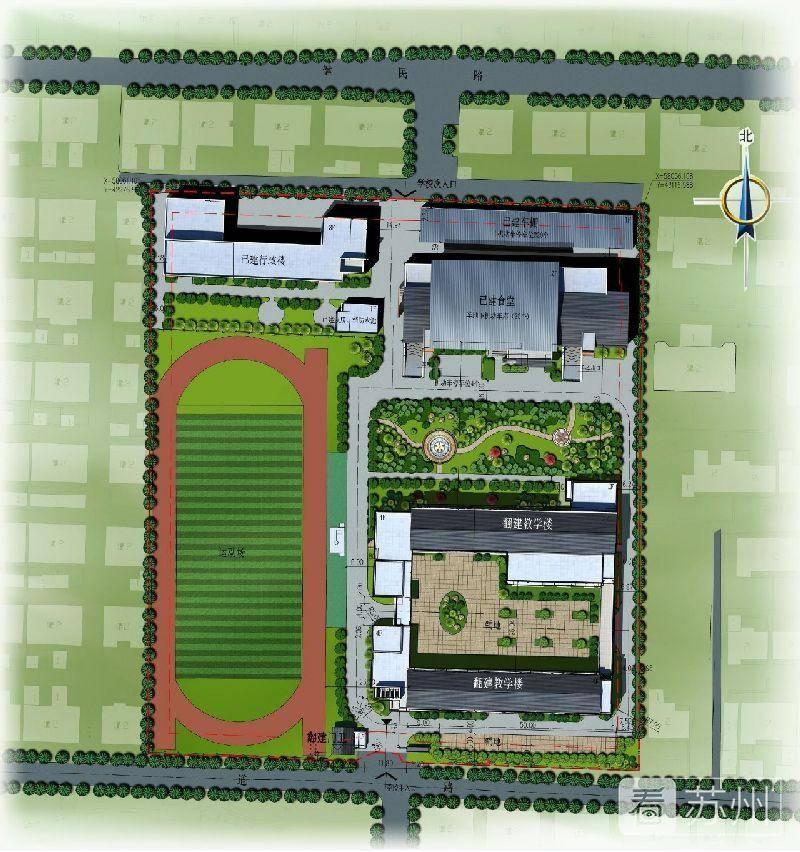新建漕湖幼儿园位于漕湖街道苏虞张路东,建设规模1万平方米.